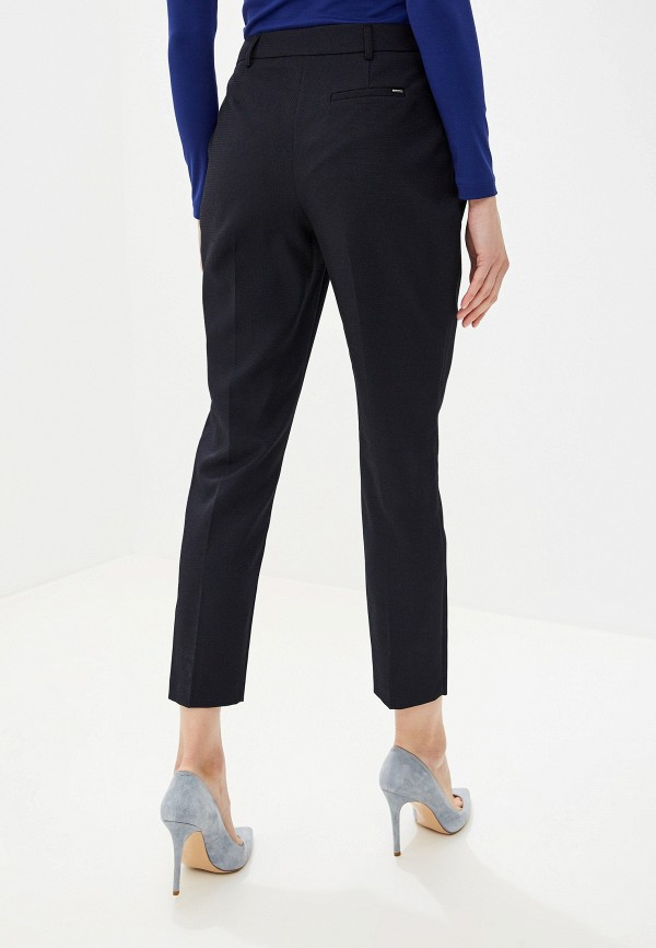 Фото 3 - женские брюки Dorothy Perkins синего цвета