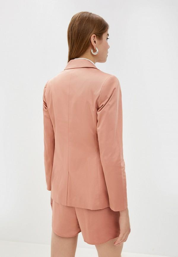 Фото 3 - женский пиджак Dorothy Perkins розового цвета