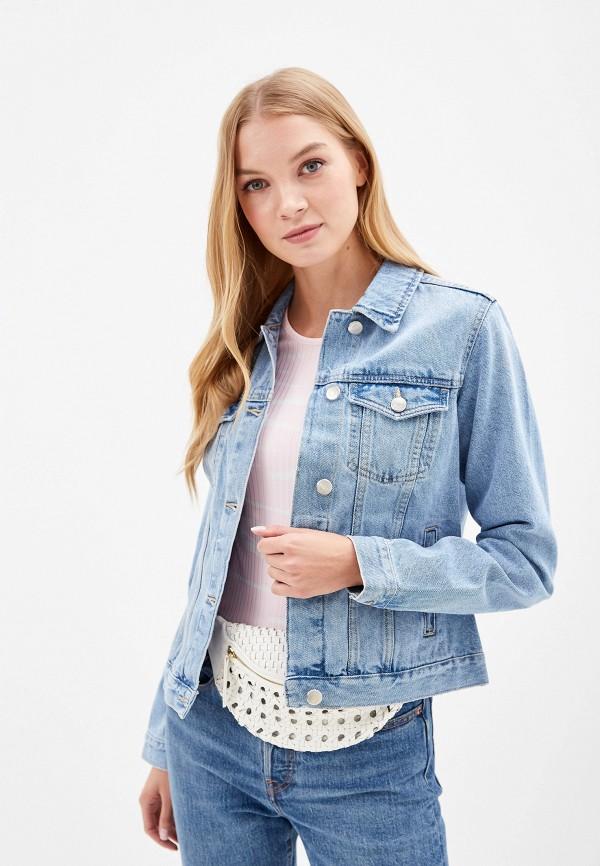 женская джинсовые куртка dorothy perkins, бордовая