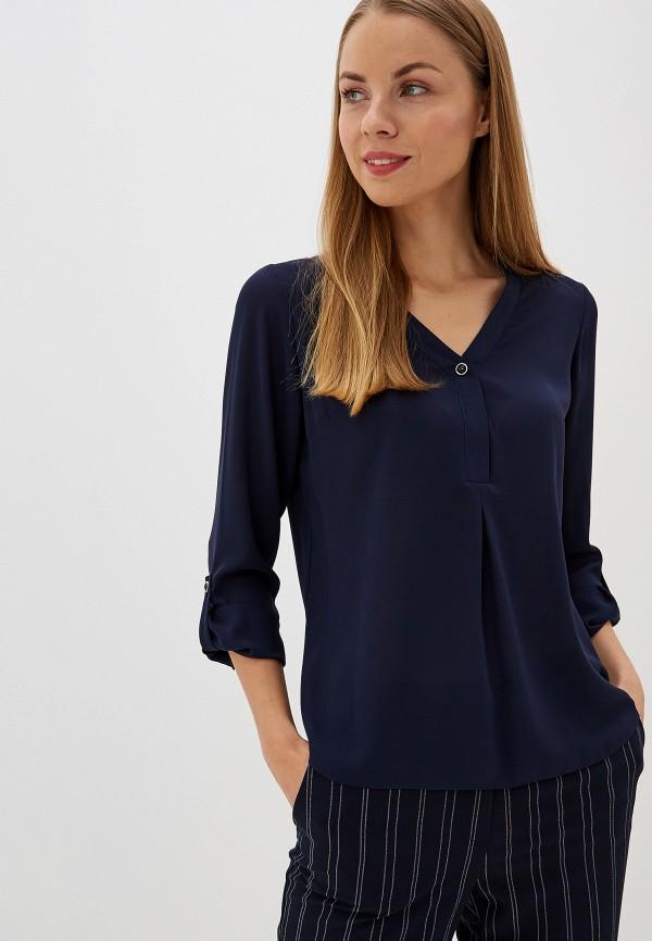 Купить Женскую блузку Dorothy Perkins синего цвета