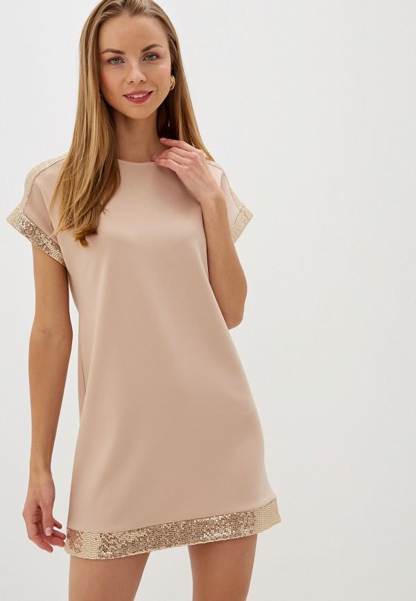 Купить Женское вечернее платье Dorothy Perkins бежевого цвета