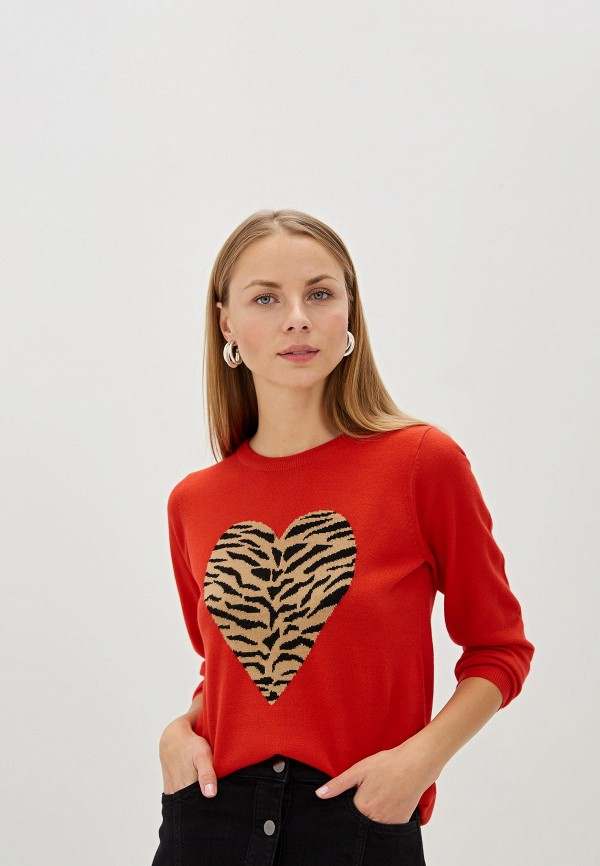 женский пуловер dorothy perkins, красный