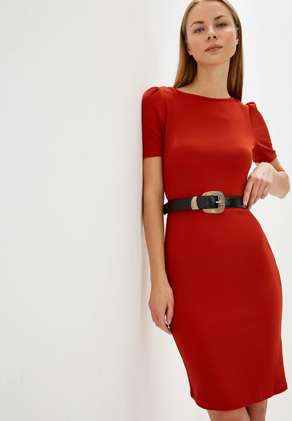 женское платье-футляр dorothy perkins, красное