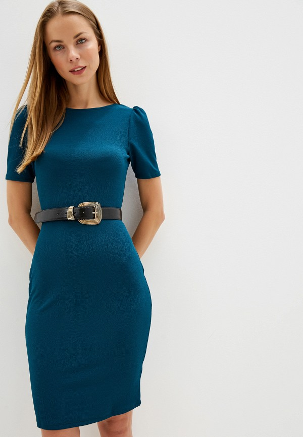 женское платье-футляр dorothy perkins, зеленое