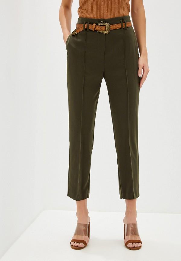женские классические брюки dorothy perkins, хаки