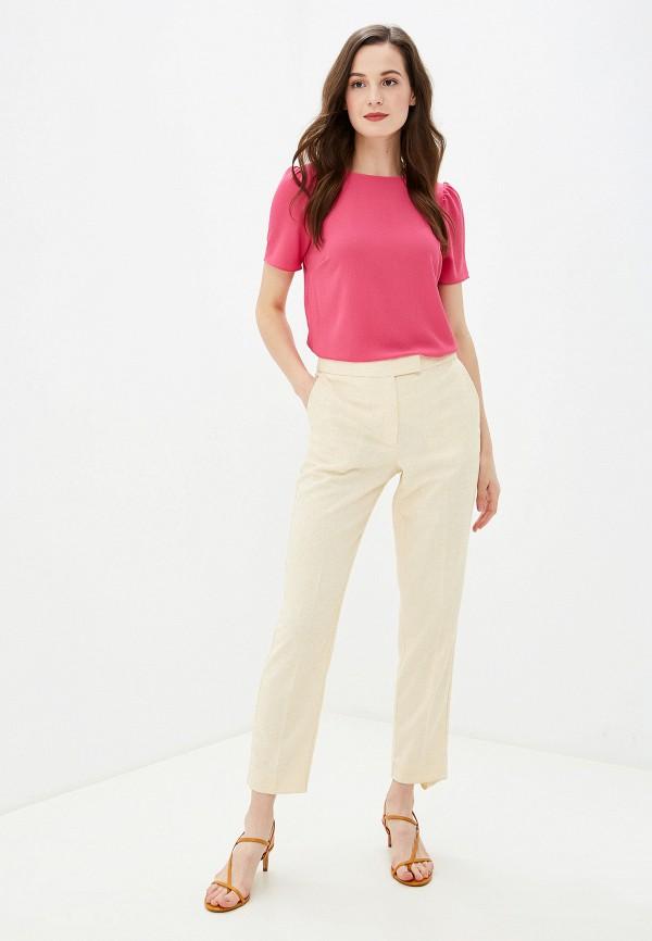 Фото 2 - женскую блузку Dorothy Perkins розового цвета