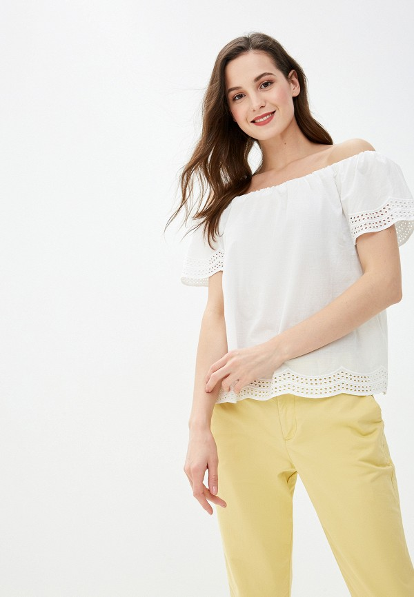 Фото - женскую блузку Dorothy Perkins белого цвета