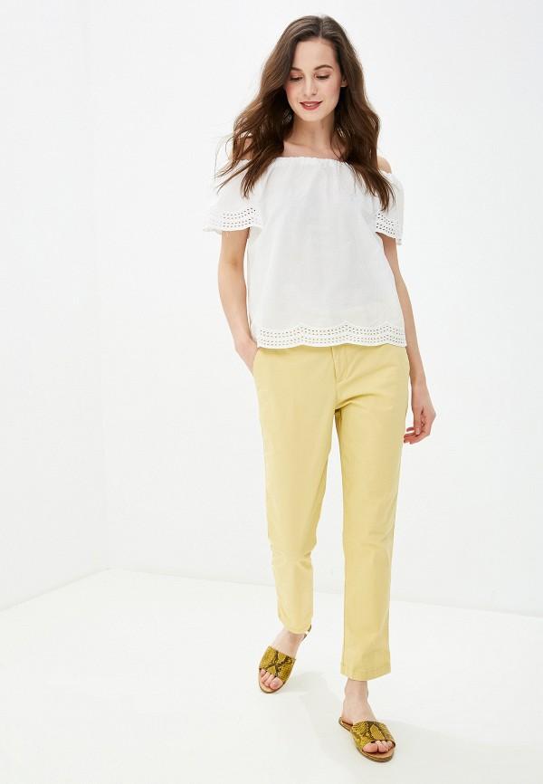Фото 2 - женскую блузку Dorothy Perkins белого цвета