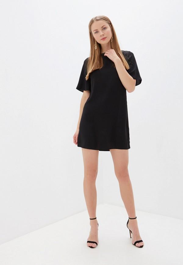 Фото 2 - женское платье Dorothy Perkins черного цвета