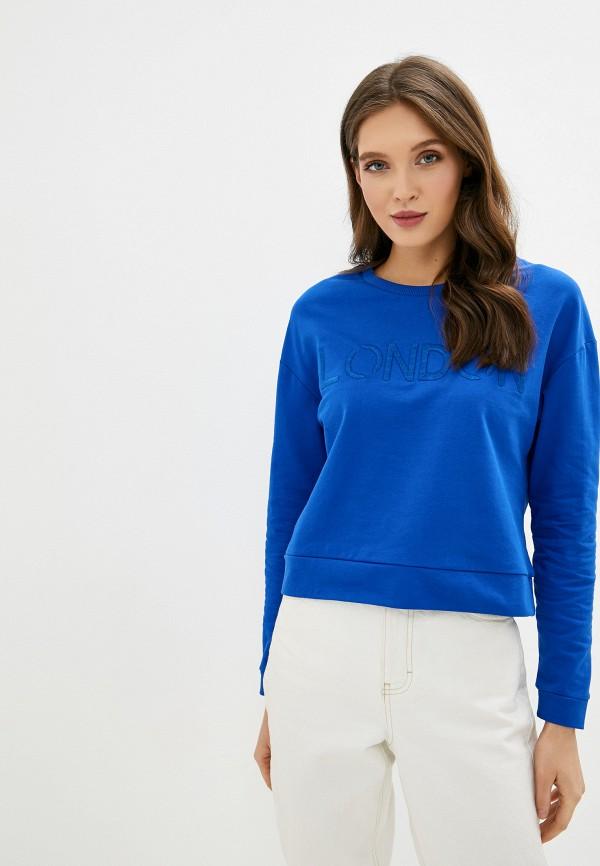 женский свитшот dorothy perkins, синий