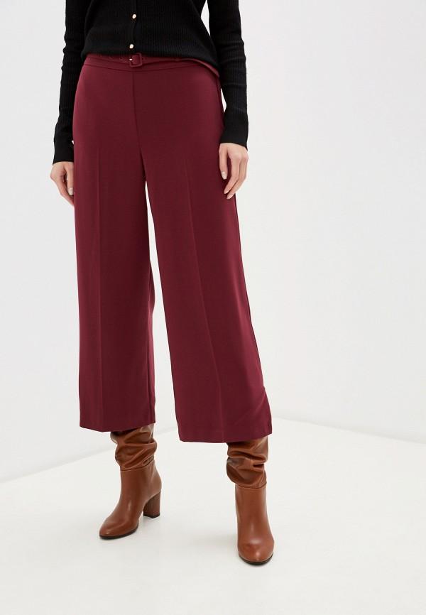 женские повседневные брюки dorothy perkins, бордовые