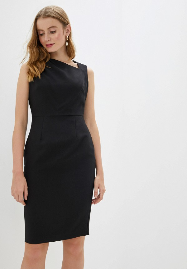 женское платье-футляр dorothy perkins, черное