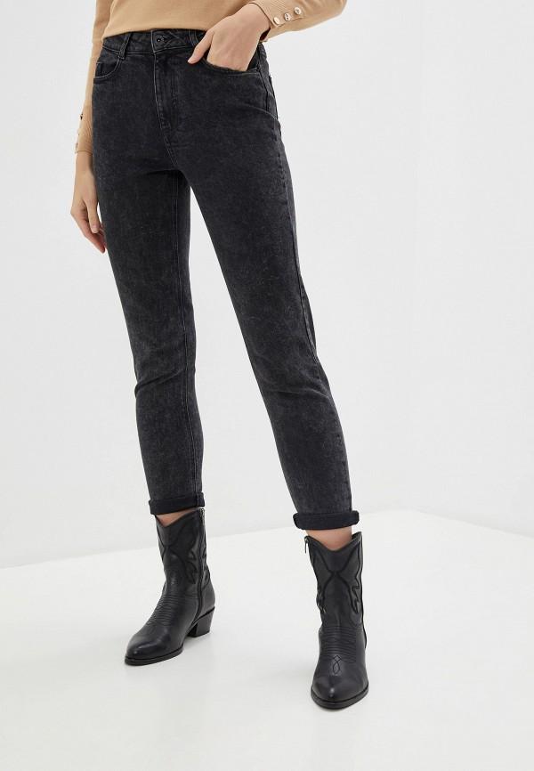женские джинсы-мом dorothy perkins, черные