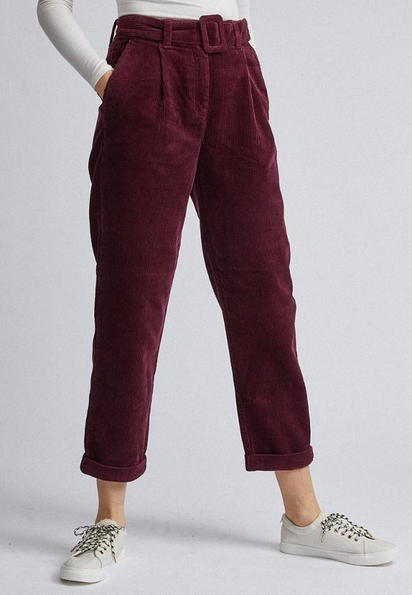 женские повседневные брюки dorothy perkins, фиолетовые
