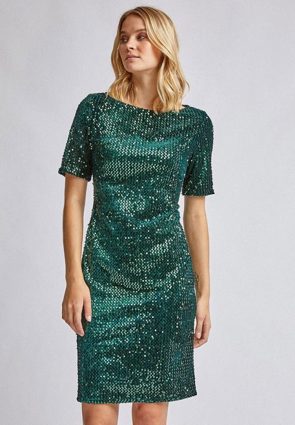 женское вечерние платье dorothy perkins, зеленое