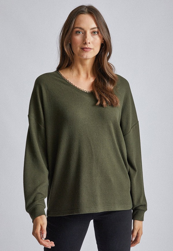 женский пуловер dorothy perkins, хаки