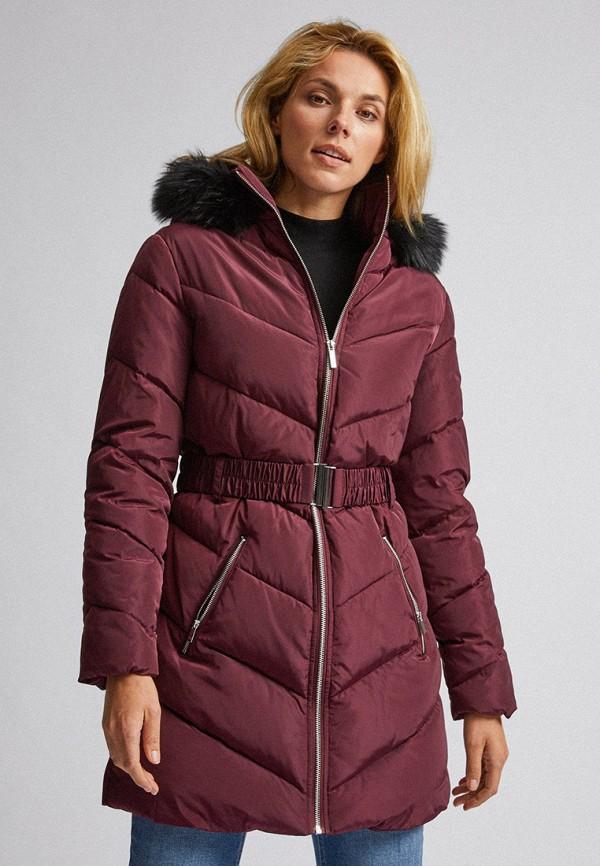 женская куртка dorothy perkins, бордовая