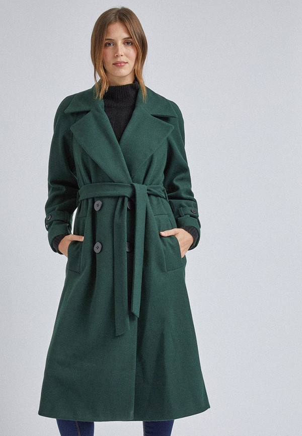 женское пальто dorothy perkins, зеленое