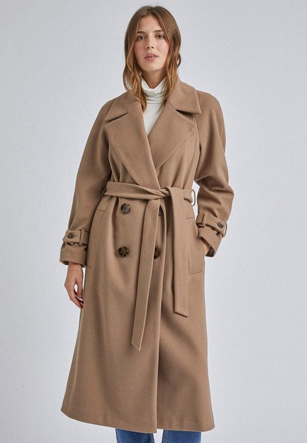женское пальто dorothy perkins, бежевое