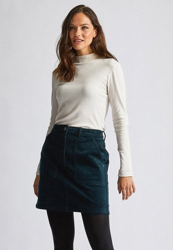 женская прямые юбка dorothy perkins, бирюзовая