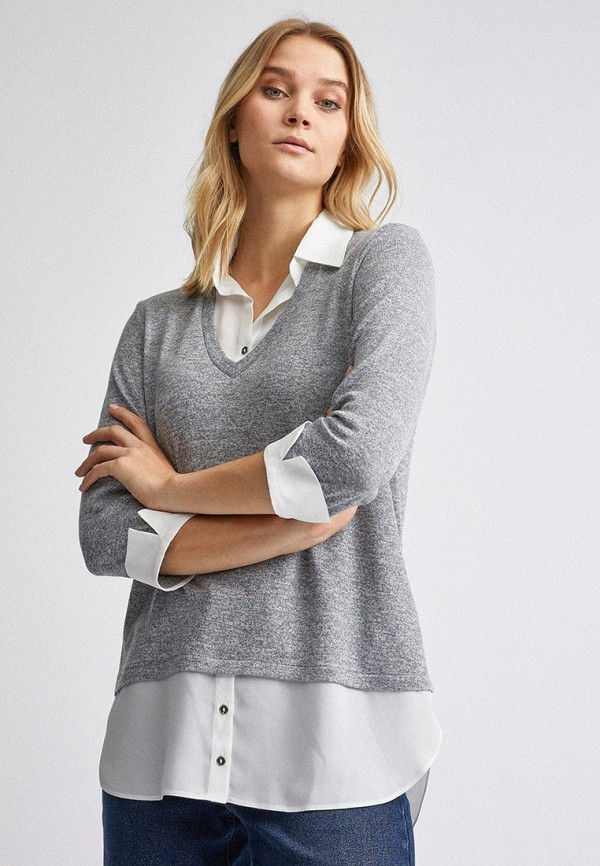 женская блузка dorothy perkins, серая