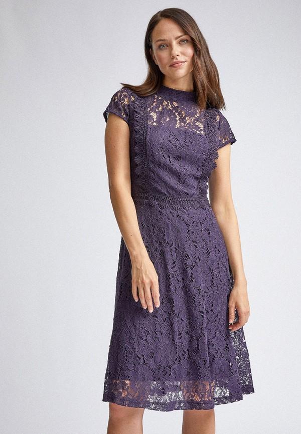 женское вечерние платье dorothy perkins, фиолетовое