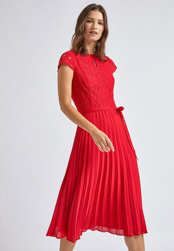 женское вечерние платье dorothy perkins, красное