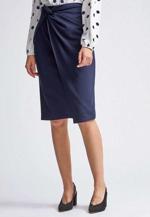 женская прямые юбка dorothy perkins, синяя
