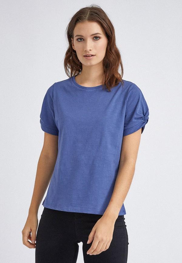 женская футболка dorothy perkins, синяя