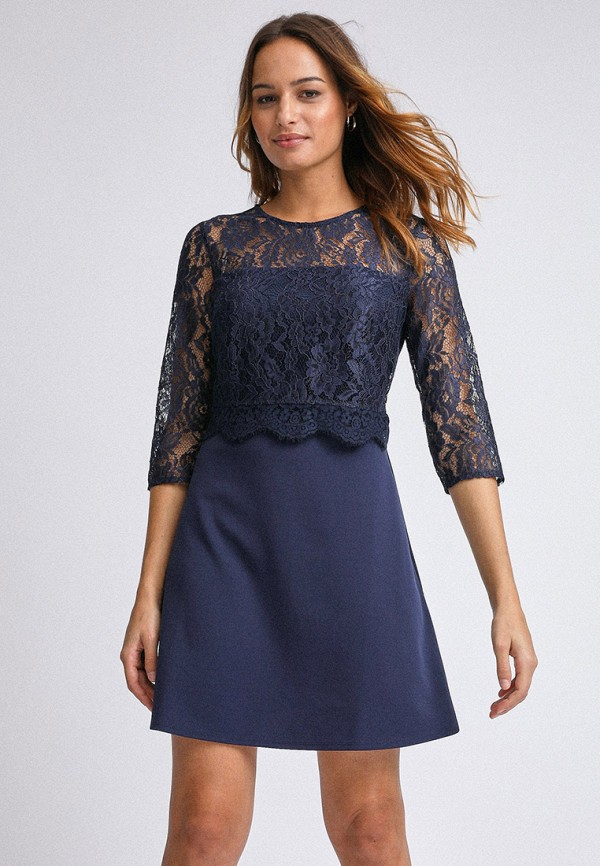 женское повседневные платье dorothy perkins, синее