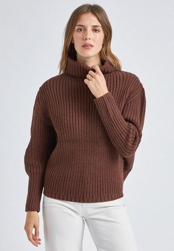 женский свитер dorothy perkins, коричневый