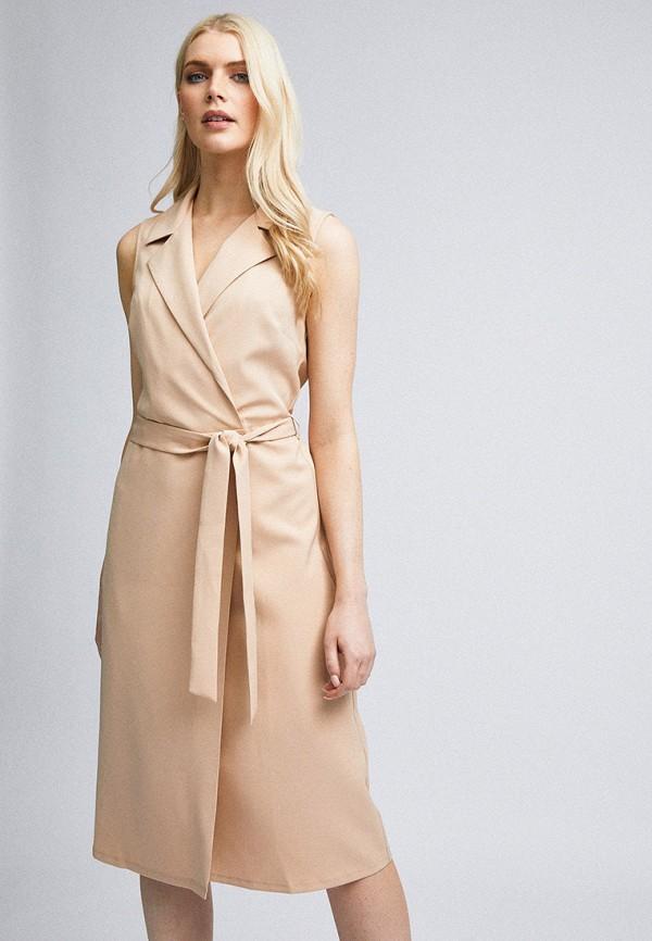 женское платье dorothy perkins, бежевое