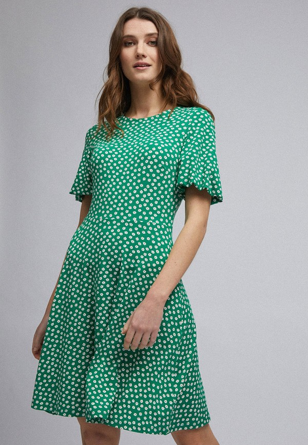 женское повседневные платье dorothy perkins, зеленое
