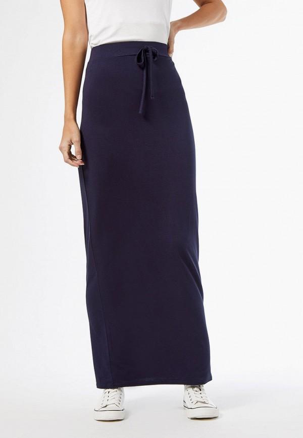 женская зауженные юбка dorothy perkins, синяя
