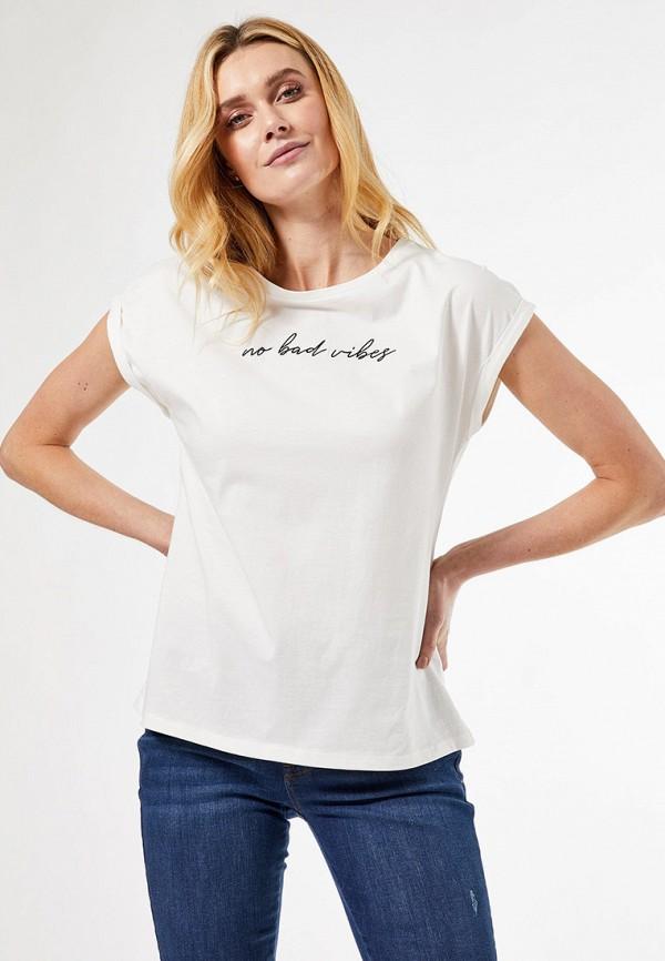 женская футболка dorothy perkins, белая