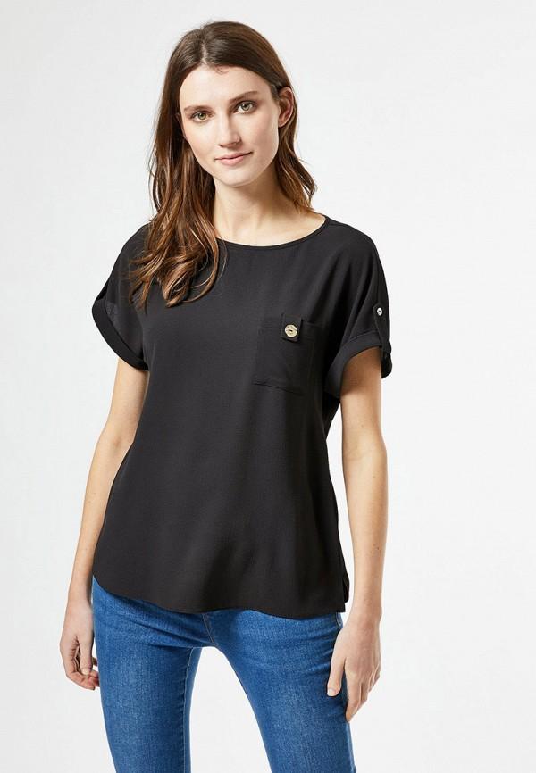 женская блузка dorothy perkins, черная