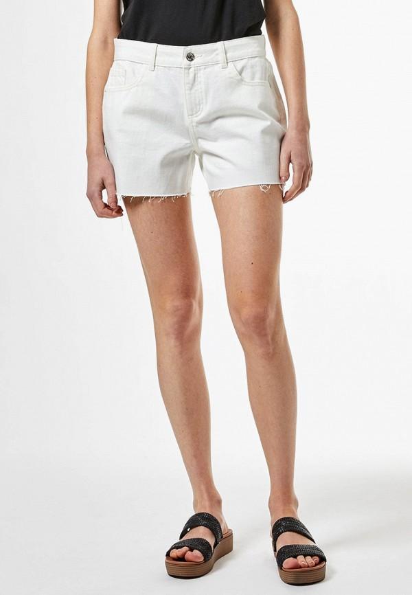 женские повседневные шорты dorothy perkins, белые
