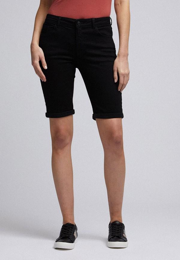 женские повседневные шорты dorothy perkins, черные