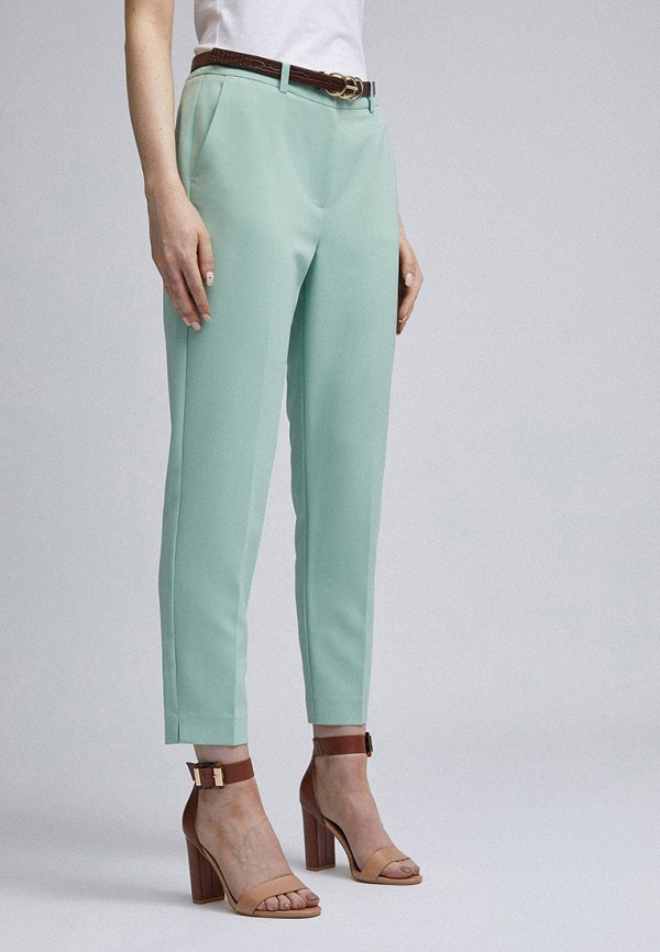женские повседневные брюки dorothy perkins, бирюзовые