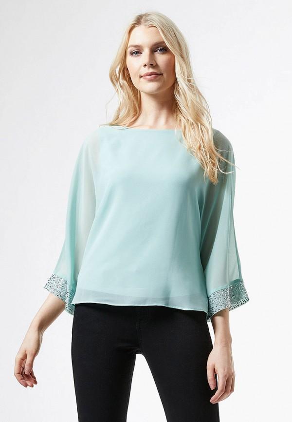 женская блузка dorothy perkins, голубая