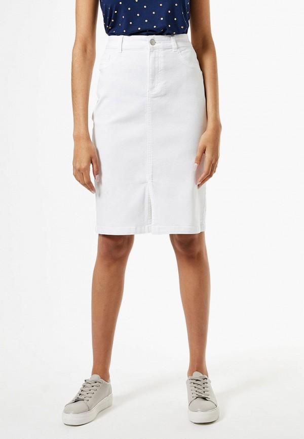 женская джинсовые юбка dorothy perkins, белая