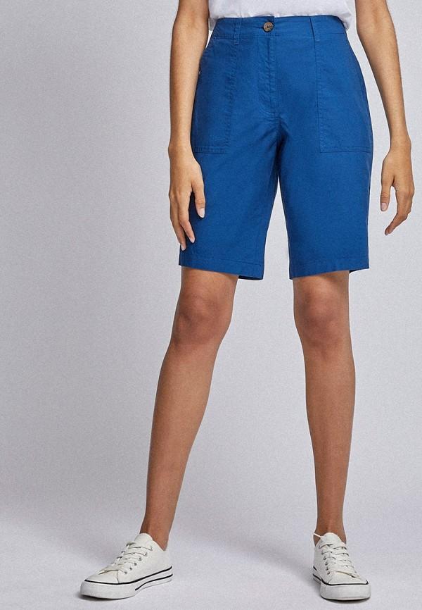 женские повседневные шорты dorothy perkins, синие