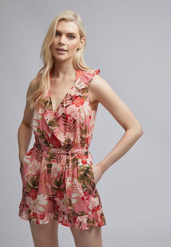 женский комбинезон dorothy perkins, розовый