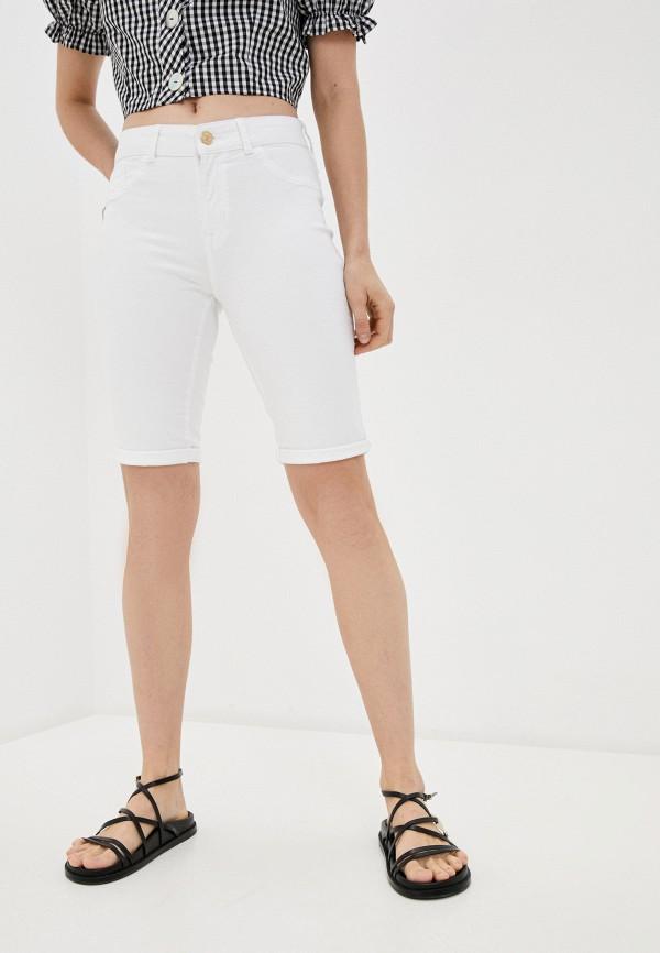 женские джинсовые шорты dorothy perkins, белые