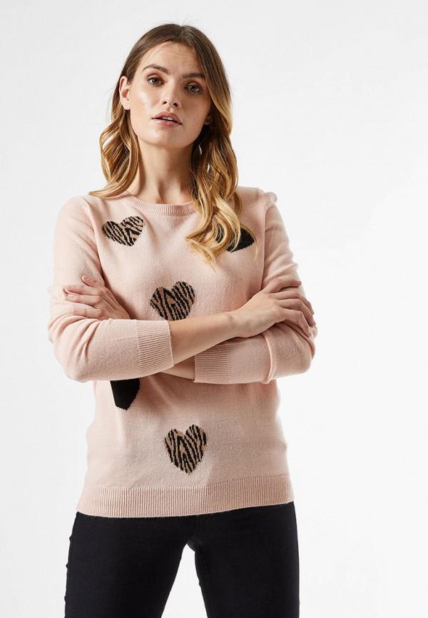 женский джемпер dorothy perkins, розовый