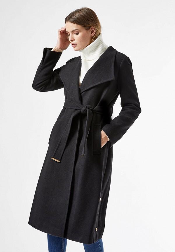 женское пальто dorothy perkins, черное