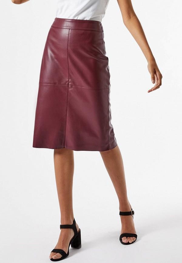 женская юбка dorothy perkins, бордовая