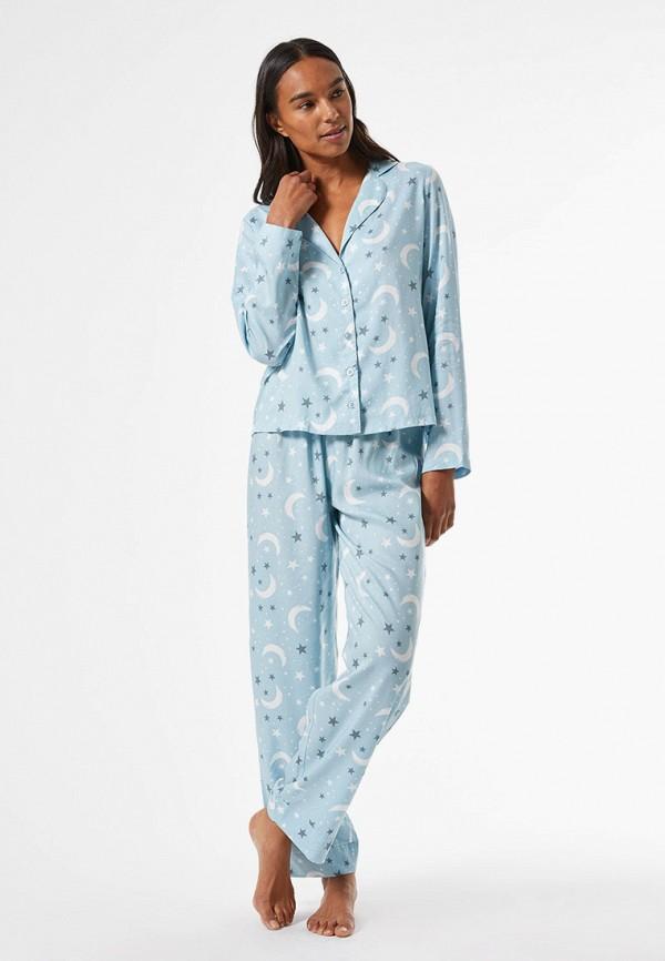 женская пижама dorothy perkins, голубая