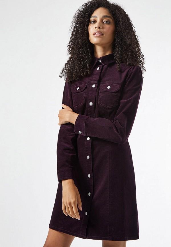 женское платье dorothy perkins, фиолетовое