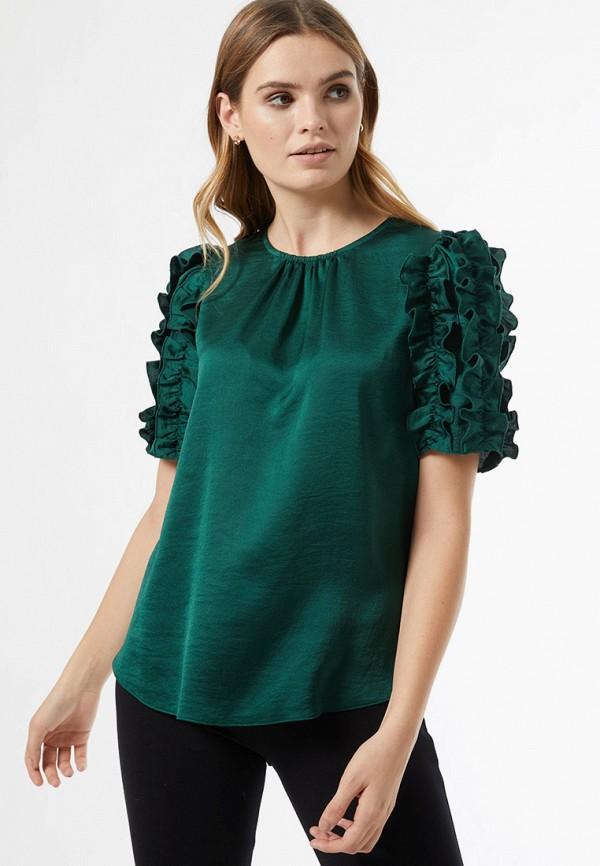 женская блузка dorothy perkins, зеленая